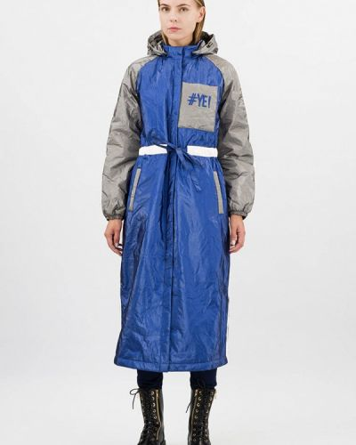 Утепленная куртка - синяя Pavel Yerokin