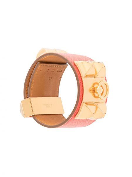 Złota bransoletka Hermes