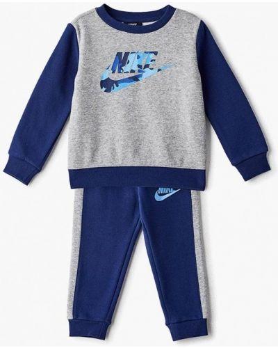 Спортивный костюм синий серый Nike