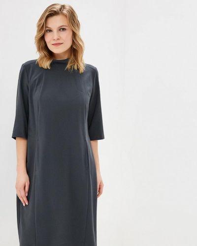 Повседневное платье серое Zar Style