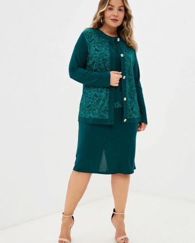 Зеленый весенний костюм Prewoman
