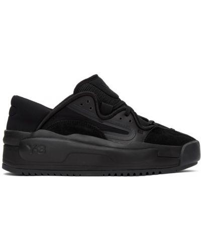 Нейлоновые черные кроссовки сетчатые с круглым носом Y-3