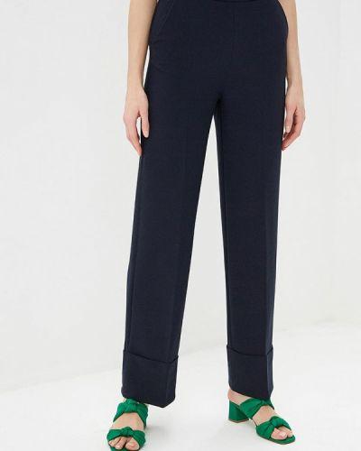 Классические брюки весенний синие Sela