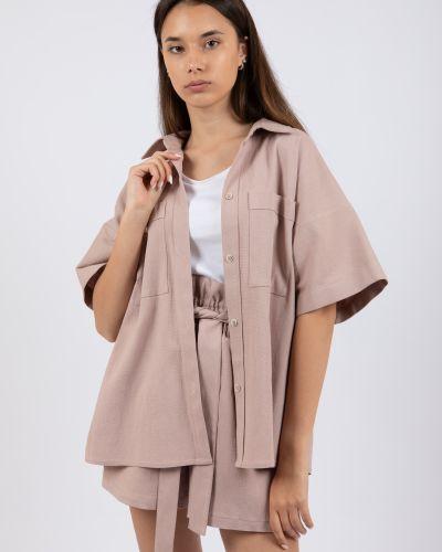 Льняная рубашка Rozetka