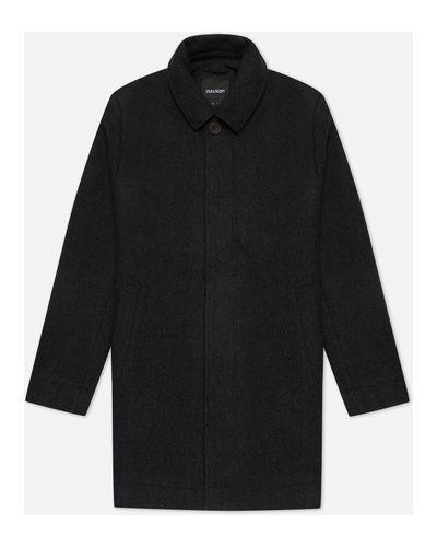 Шерстяное пальто классическое Lyle & Scott