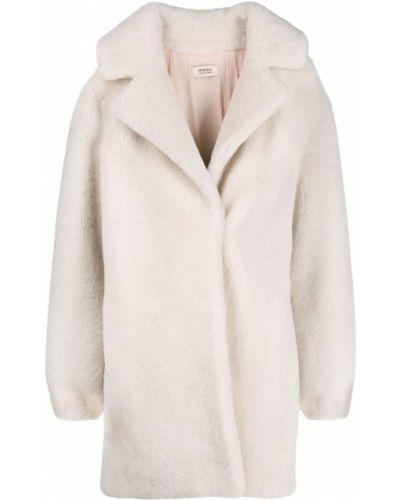 Белое пальто Yves Salomon Meteo