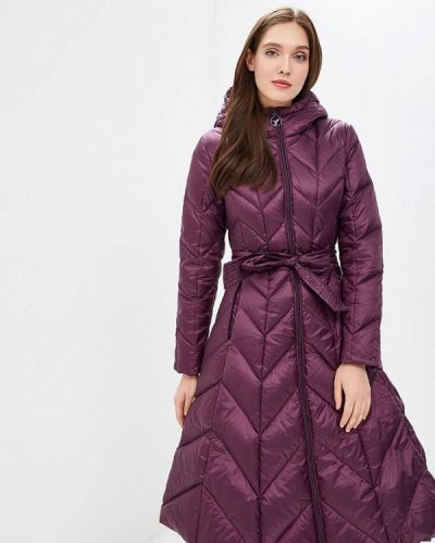 Зимняя куртка осенняя фиолетовый Odri Mio