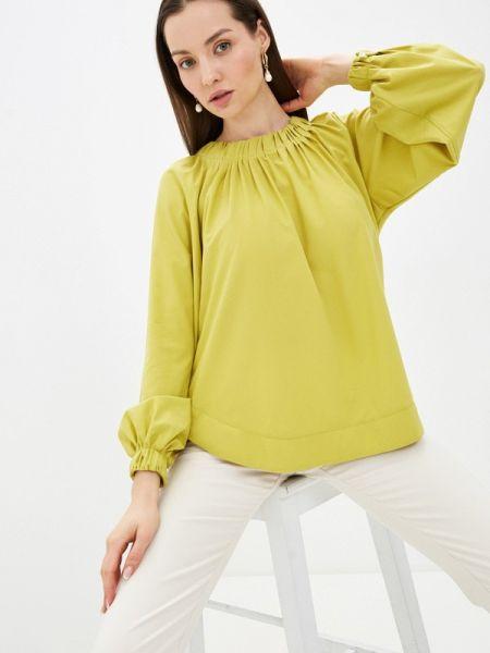 Желтая блузка с длинным рукавом Mankato