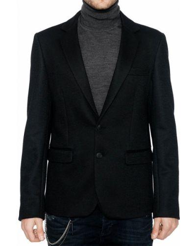 Пиджак из вискозы шерстяной Antony Morato