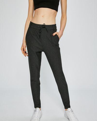 Серые зауженные брюки Noisy May