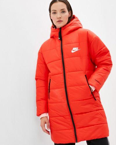 Утепленная куртка - красная Nike