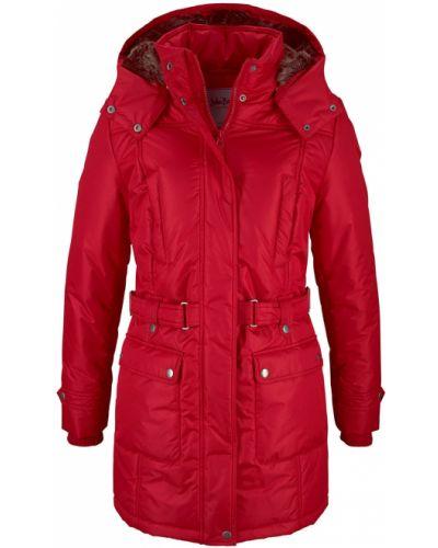 Зимняя куртка с капюшоном на молнии Bonprix