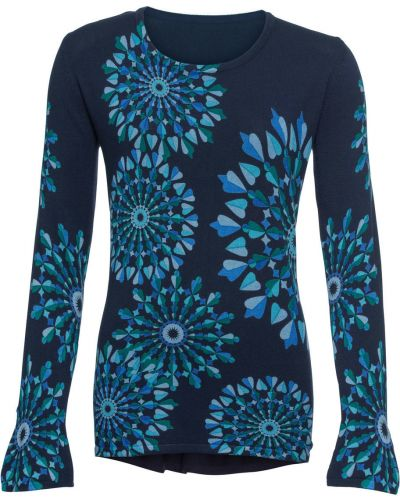 Темно-синий свитер Bonprix