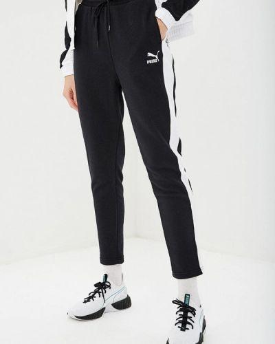 Спортивные брюки черные весенний Puma