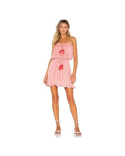 Платье мини из вискозы платье-сарафан Sundress