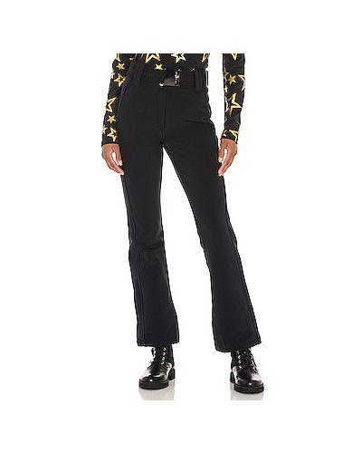 Черные брюки стрейч с манжетами Goldbergh