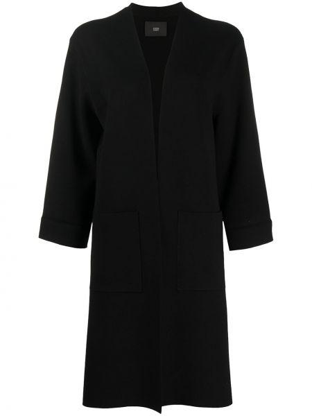 Черное пальто Steffen Schraut