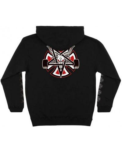 Черный пуловер Independent
