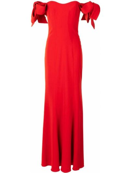 Sukienka długa bawełniana Badgley Mischka