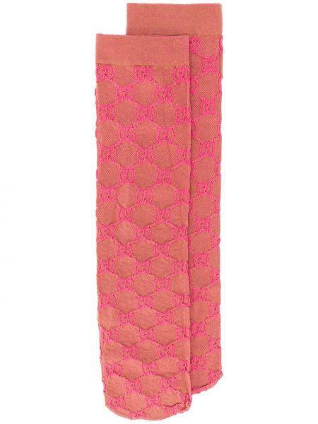 Skarpety - różowe Gucci