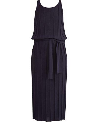 Платье миди с поясом спортивное Eleventy