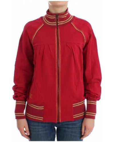 Bawełna bawełna różowy sweter Galliano