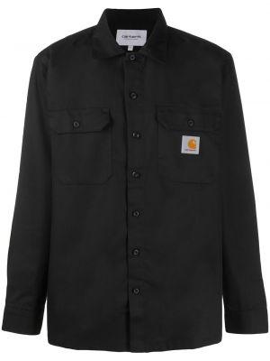 Классическая рубашка с карманами с манжетами с воротником с заплатками Carhartt Wip