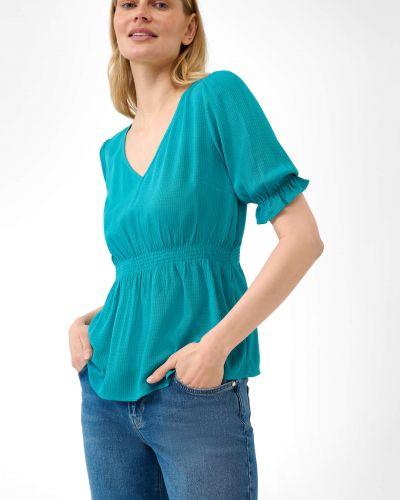 Zielona bluzka z wiskozy Orsay