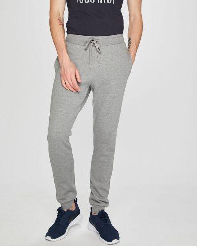 Джинсы на резинке свободная Trussardi Jeans