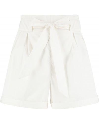 Свободные хлопковые белые шорты Termit