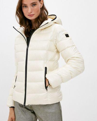 Белая зимняя куртка Hetrego