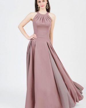 Вечернее платье осеннее бежевое Grey Cat