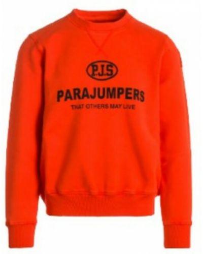 Pomarańczowa bluza dresowa Parajumpers