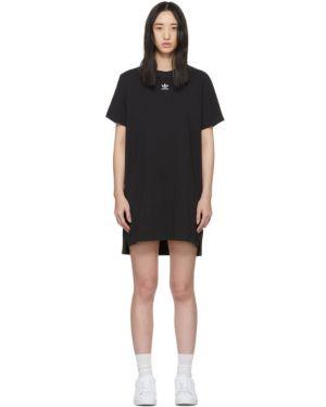 Платье с вышивкой вязаное Adidas Originals