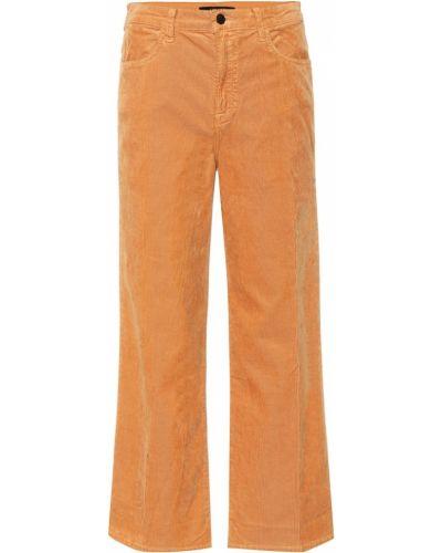 Коричневые широкие джинсы винтажные J Brand