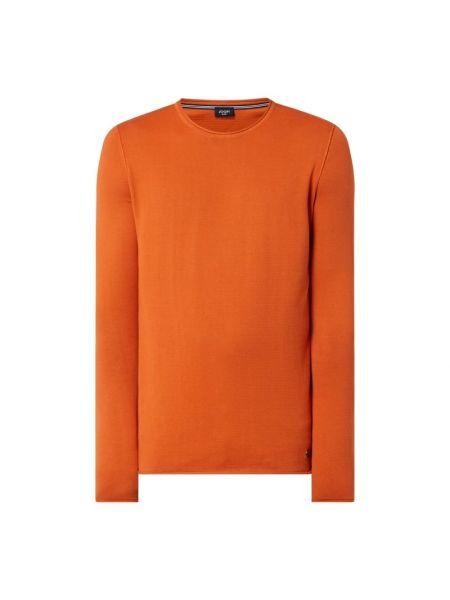 Pomarańczowy sweter bawełniany Joop! Jeans