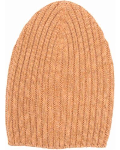 Pomarańczowa z kaszmiru czapka Barrie