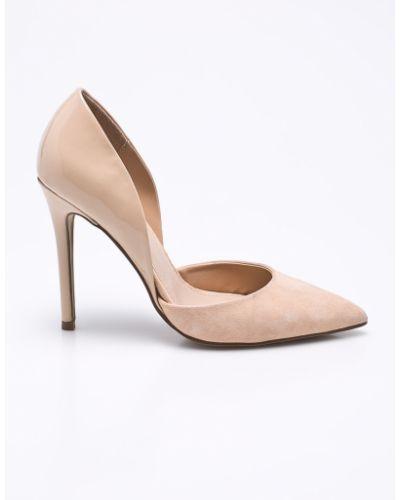 Туфли на высоком каблуке кожаные на каблуке Steve Madden