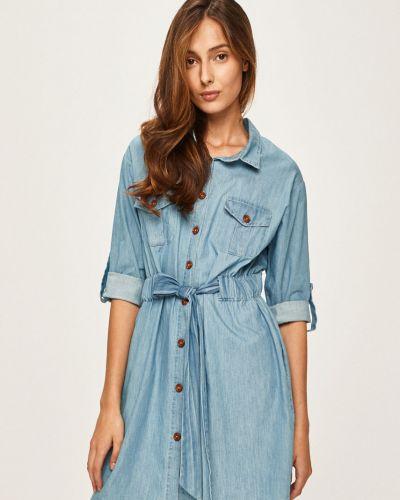 Джинсовое платье на пуговицах Answear