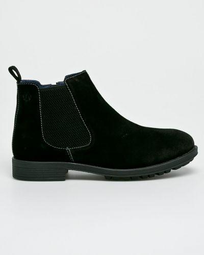 Кожаные ботинки высокие S.oliver