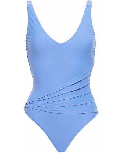 Синий купальник с пайетками La Perla