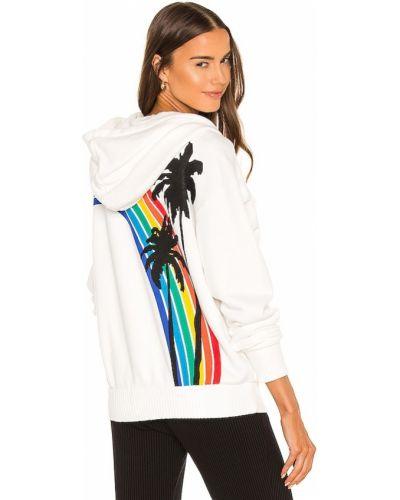 Bluza z kapturem bawełniana z printem Spiritual Gangster
