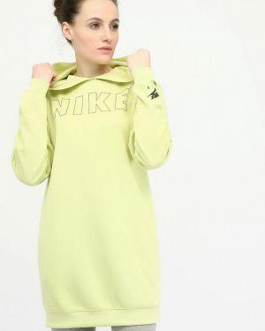 Зеленое платье Nike