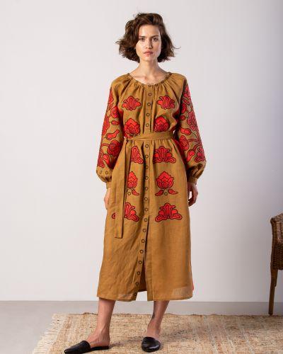 Этническое платье оверсайз Etnodim