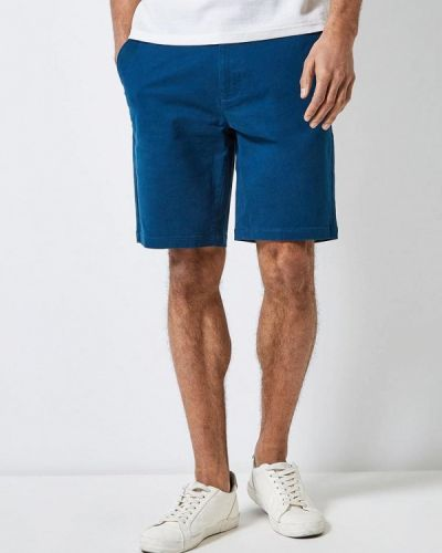 Шорты повседневные синий Burton Menswear London