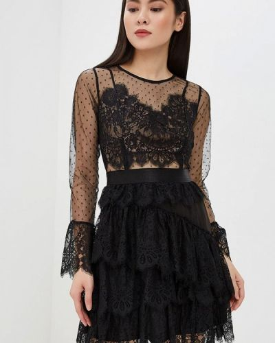 Вечернее платье черное Danity