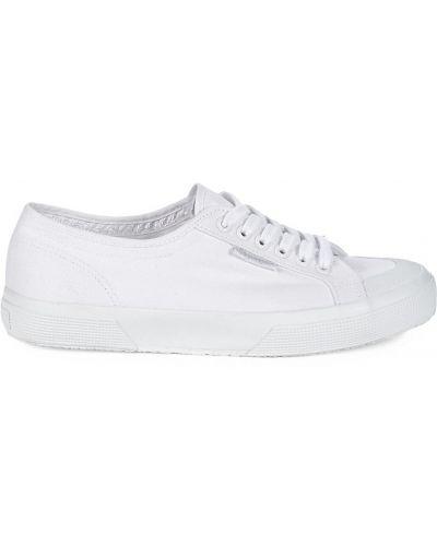Sneakersy na platformie koronkowe Sperry