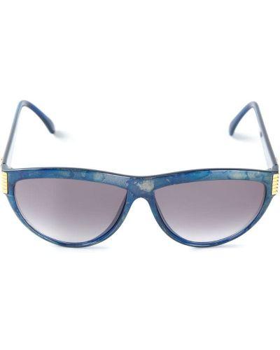 Солнцезащитные очки винтажные - синие Yves Saint Laurent Vintage