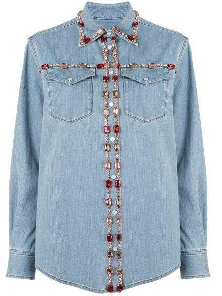 Розовая классическая юбка макси с карманами с воротником Dolce & Gabbana