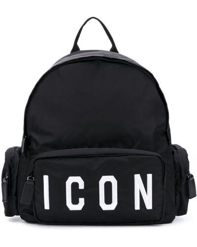 Рюкзак черный Dsquared2 Kids